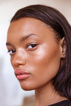 Backstage at Rodarte. She is absolutely stunning! I love this natural glowy make-up look with the subtle pink lip colour. Makeup Inspo, Makeup Inspiration, Makeup Tips, Beauty Makeup, Hair Makeup, Hair Beauty, Beauty Tips, Makeup Tutorials, Glow Makeup