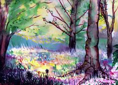 Daydreaming by ~Rhetorique on deviantART    A nice watercolor that caught my eye.