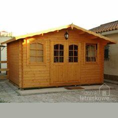 Drewniany domek ogrodowy (Wooden house) Hoby Nervion 10,6 m2