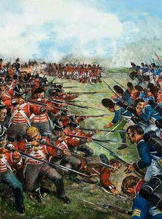 Británicos vs Franceses en Waterloo 1815