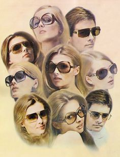 Riviera sunglasses advert 1973