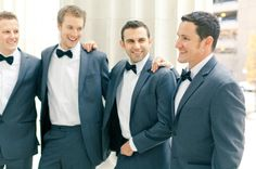 Groomsmen rocking the bow tie  Photography by http://brumleyandwells.com/