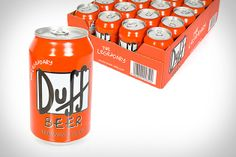 Duff Beer (£25; roughly $40). Brewed in Germany, this surprisingly smooth 4.7 percent lager is the perfect way to pick up a dull barbecue or tackle a tough Thursday afternoon. Woo-hoo