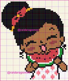 Embroidery Patterns, Hand Embroidery, Pixel Crochet Blanket, Sweet Girls, Bowser, Cross Stitch, Anime, Fictional Characters, Cute Cross Stitch