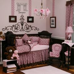 Paris room! I so lurve this theme for kiana's room.. ♥