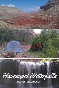 A recap of a camping trip to Havasu Falls on the Havasupai reservation. See the gorgeous waterfalls on this 10-mile Grand Canyon hike in Arizona