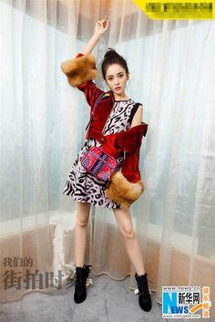 Chinese actress Na Zha releases fashion shots | China Entertainment News