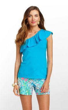 565cecd016a468 Lilly Pulitzer MORELY TOP