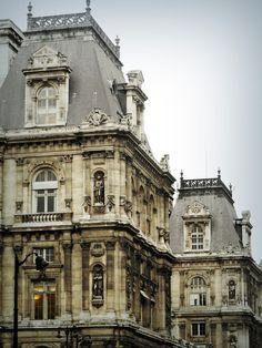 Louvre façade, Paris