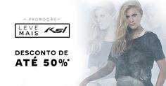 Já começou a nossa promoção de produtos KSL! Selecionamos peças lindas! Corre no site http://www.livreeleve.com.br/ #temnalivreleve #livreelevelove #welovesale