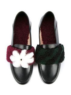 Fendi embellished loafers