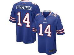 Nike Buffalo Bills  14 Ryan Fitzpatrick Game blue Baseball Jerseys 8306ee3b8