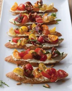 ina summer crostini
