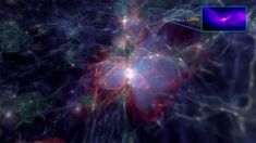"""Space Mystery Most supermassive black holes got their start in fast-growing """"halos"""" of dark matter, the mysterious stuff that makes up most of the material universe, a new study suggests. Dark Matter, Star Citizen, Cosmos, Astronomy Terms, Gravitational Potential, Solar Mass, Physics And Mathematics, Theoretical Physics, Old Lights"""
