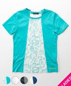 リメイク風デザインBEAR半袖Tシャツ■17SS新作■