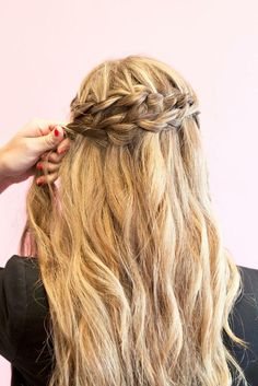 braid your hair for spring