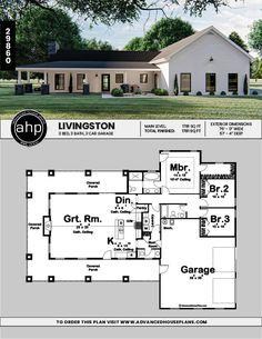 Metal House Plans, Pole Barn House Plans, Pole Barn Homes, New House Plans, Dream House Plans, Small House Plans, House Floor Plans, Garage Plans, Metal Building Homes