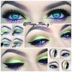 maya mia makeup - Bing Images on We Heart It Pretty Makeup, Love Makeup, Makeup Inspo, Makeup Art, Makeup Inspiration, Beauty Makeup, Hair Makeup, Makeup Ideas, Makeup Drawing