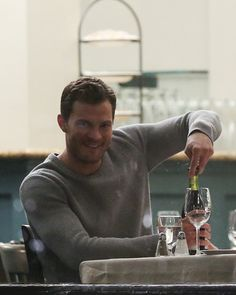 @lilyslibrary Jamie Dornan films Fifty Shades Darker on March, 16