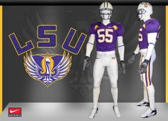 Special post-Katrina jerseys for LSU-Tulane game.