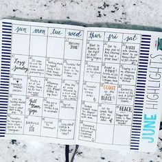 @planwithkylie has an awesome spread right here! Love the organization! I still can't believe it is already July!  | bullet journaling | bullet journal | bujo | bullet journal junkie | bullet journal junkies | bujo junkie | bujo junkies | journaling | planning | planner | bullet journals |