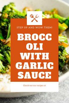 Broccoli Stems, Broccoli Pasta, Broccoli Cauliflower, Chicken Broccoli, Creamy Chicken, Broccoli With Garlic Sauce, Easy Meals, Easy Recipes