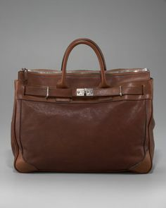 Leather Briefcase by Brunello Cucinelli at Bergdorf Goodman. Briefcase For Men, Leather Briefcase, Leather Bag, Handbags For Men, Best Bags, Purses And Bags, Men's Bags, Casual Bags, Vintage Bags