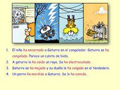 Me encanta escribir en español: el pretérito perfecto