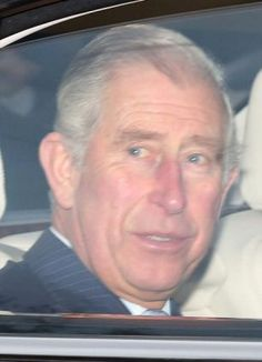 mailonline: Prince of Wales arrives for the Queen's pre-Christmas lunch, December 18, 2013