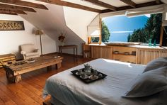 5 beautifully decorated luxury bedrooms with Lake and Mountain Views! #Millaqueo #ArgentinaLuxuryVilla