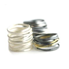 Rings Sterling Silver | Satin Sterling Silver Wrap Ring - Altered Space