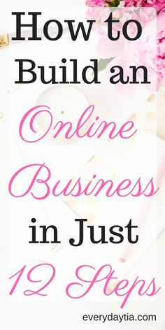 How to Build an Online Business - Photo Start Online Business, Starting Your Own Business, Business Planning, Business Tips, Business Meme, Financial Planning, Make Money Blogging, How To Make Money, Earn Money
