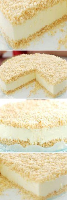 Cocina – Recetas y Consejos Cold Desserts, Sweet Desserts, No Bake Desserts, Sweet Recipes, Delicious Desserts, Cake Recipes, Dessert Recipes, Yummy Food, Cake Cookies