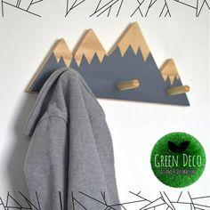Perchero Nordico Alpes Escandinavo Deco Montaña Infantil - $ 290,00 en Mercado Libre