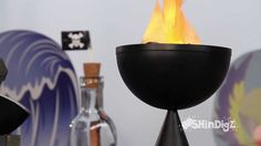 VIDEO-- Flaming Table Torch - Shindigz Party Supplies