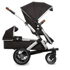 The new Joolz Geo Duo is a gorgeous luxury double stroller that works from infancy to toddlerhood.