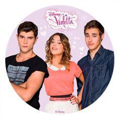 Disque azyme Violetta - Disney