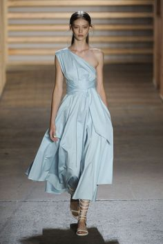 Tibi Spring 2015 Collection. Photo: Imaxtree