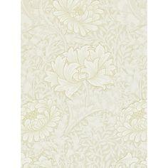 Buy Morris & Co Chrysanthemum Wallpaper Online at johnlewis.com