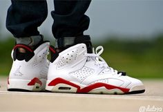 Air Jordan 6 White Infrared - Dut192