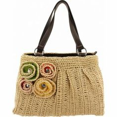 Trish Crochet bag from Brighton.  Love the colors for summer!