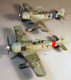 Focke-Wulf Fw 190 A-8 by Floyd Werner (Eduard 1/48)