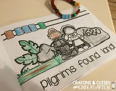 FREE First Thanksgiving Retelling Bracelet and story