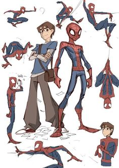 Hey, wasn't this the design for the Spectacular Spider-Man cartoon? I loved that show!