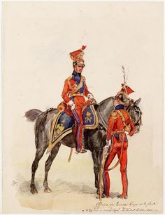 Dutch Lancers of the Imperial Guard