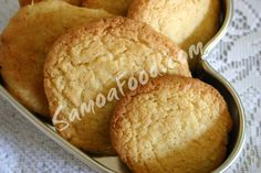 Samoa Food: Coconut Cookies