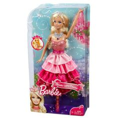 A Barbie Princess rules her kingdom with beauty and brains, style and substance. This Barbie Dolls seeks adventures that take her from pink carpet star to hometown heroine to caring for the planet and