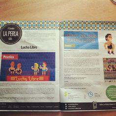 Pixel Illustration para Guía La Perla en el periódico El Informador