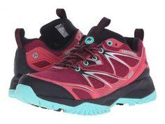 Merrell Capra Bolt Waterproof (Bright Red) Women's Shoes