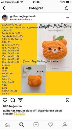 Mesmerizing Crochet an Amigurumi Rabbit Ideas. Lovely Crochet an Amigurumi Rabbit Ideas. Crochet Quilt, Crochet Bear, Love Crochet, Learn To Crochet, Crochet Dolls, Easy Crochet, Amigurumi Patterns, Amigurumi Doll, Knitting Patterns